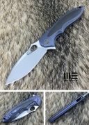 Нож складной WE Knife Zephyr blue grey