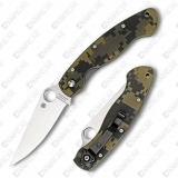Нож складной Spyderco Military Digital Camo