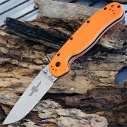 Нож складной Ontario RAT1  D2 Blade Steel Orange