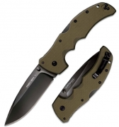 Нож складной Cold Steel Recon 1,Spear Point, OD Green, CTS-XHP