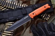 Нож Kizlyar Supreme Delta AUS-8 Black/Orange