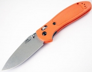 Benchmade 552 Doug Ritter M390 Orange Handle