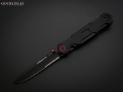 Нож складной Mr. Blade Ferat Black D2 Serrated