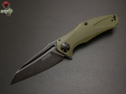 Нож складной Kershaw Natrix BlackWash, Olive