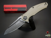 Нож складной Kershaw Natrix, Tan G-10, Blackwash