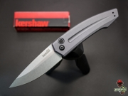Нож складной Kershaw Launch 2 Grey, Stonewash